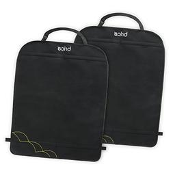 Brica Deluxe Kick Mats Auto Seat Protector, 2 Pack
