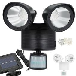 Dual Security Detector Solar Spot Light Motion Sensor Outdoo