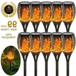 Eoyizw Solar Flame Torches Lights Flickering Dancing Landsca