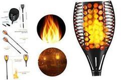 Fitybow Solar Lights Outdoor,Waterproof Flickering Flame Tor