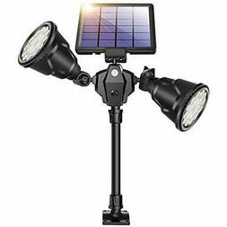 Flood & Security Lights Solar Spot Outdoor, 1000 Lumens Brig
