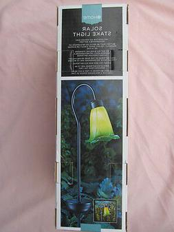 FLORAL OUTDOOR LED SOLAR STAKE YARD & GARDEN LIGHT-  NEW IN