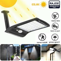 Garden Yard Lamp 36 LED Solar Lights Motion Sensor Wall Ligh