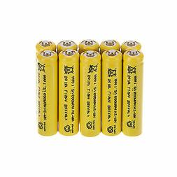 Generic 10 Pcs AAA Solar Light Batteries Rechargeable 1.2V 6