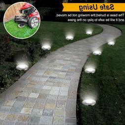GIGALUMI 12 Pack Solar Pathway Lights Outdoor, Waterproof Ou