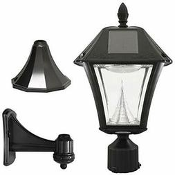 GS-105FPW-BW Porch & Patio Lights Baytown II, Outdoor Solar