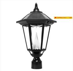 Gama Sonic Gs-99F-L Windsor Lamp Outdoor Solar Light Fixture