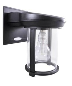 Gama Sonic GS-1B Coach Lantern Outdoor Solar Light Fixture,