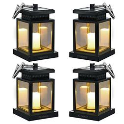 Hanging Solar Lights - Sunklly Waterproof LED Outdoor Candle