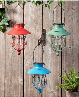 Hanging Solar Lantern Outdoor Garden LED Lamp Powered Yard L