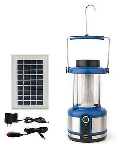 IL05 Solar Portable LED Camping Lantern Light and Cell Phone