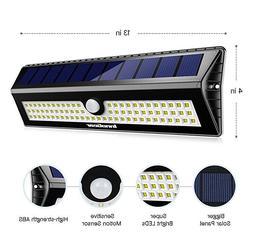 InnoGear Upgraded 77LED Solar Light Waterproof Motion Sensor