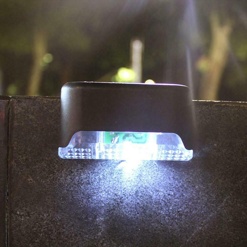 1-12Pack LED Deck Path Garden Stairs Step Fence Lamp