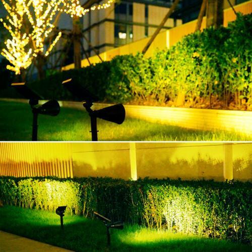1/2/4Pack LED Lights Waterproof Garden Lawn