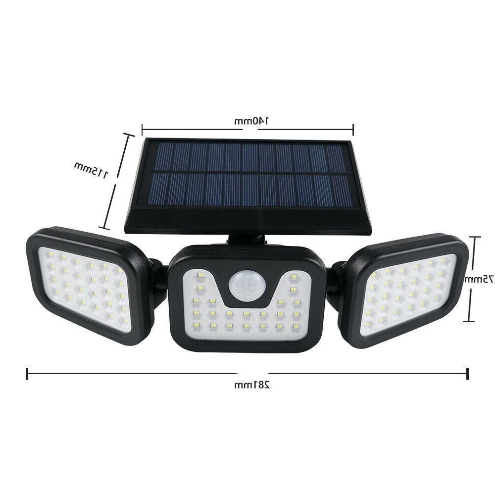 1/2PACK Lights Motion Sensor, Security 74 Waterproof Adjustable