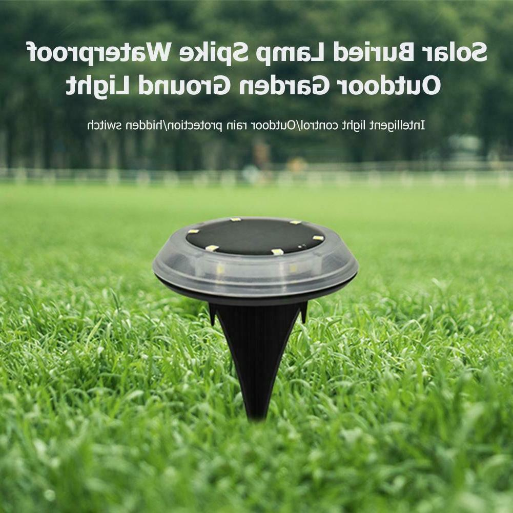1/4X Solar Buried Lamp Decking