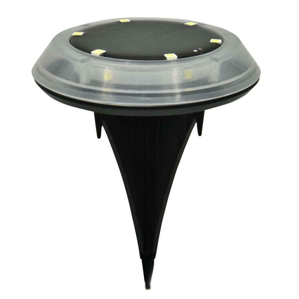 1/4X 8LED Power Buried Lamp Garden Decking