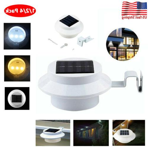 1 4x led solar power light outdoor
