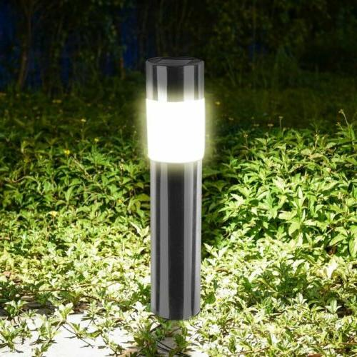 1-8Pcs Solar Pathway Waterproof Landscape Yard Lamp