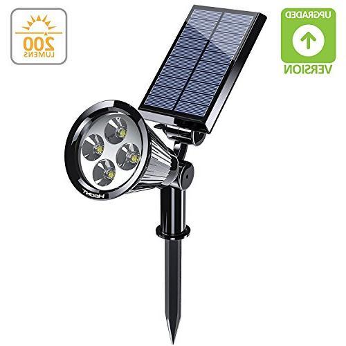 1 bright solar spotlight