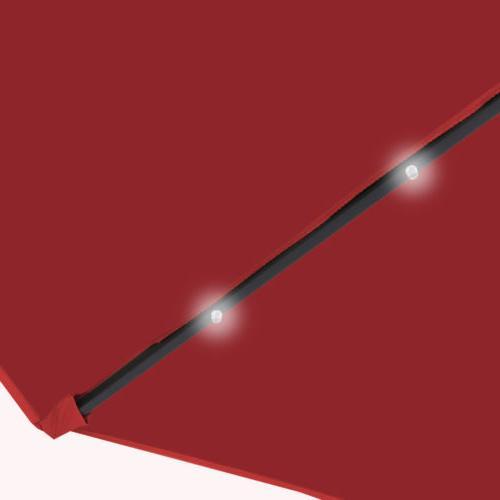 10' Hanging Solar Offset Red