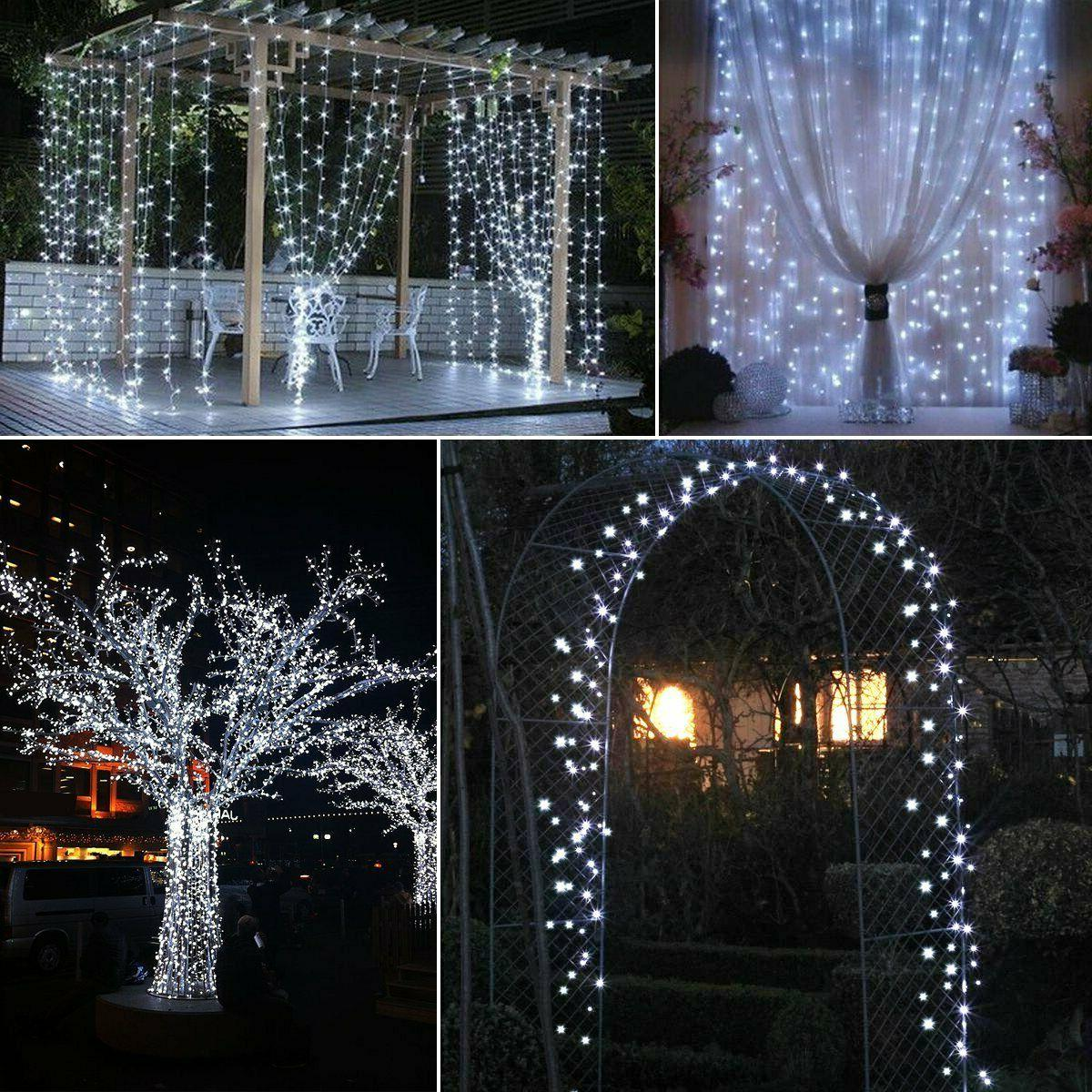 100-200 LED Fairy Lights Lamp Party Outdoor