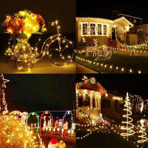 100-200 LED String Fairy Lights Lamp Party Decor