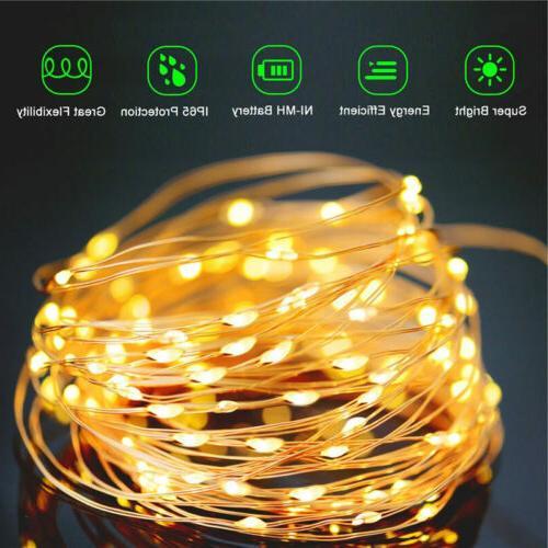 100-200 Solar String Party Decor
