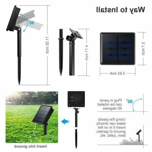 100-200 LED Solar Power Party Garden Decor