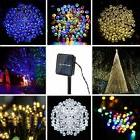 100/200LED Solar Power String Light Fairy Lamp Outdoor Xmas