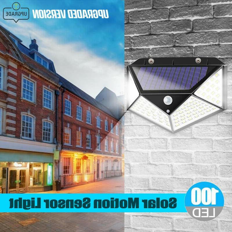 100 Sensor Wall Solar Power Garden