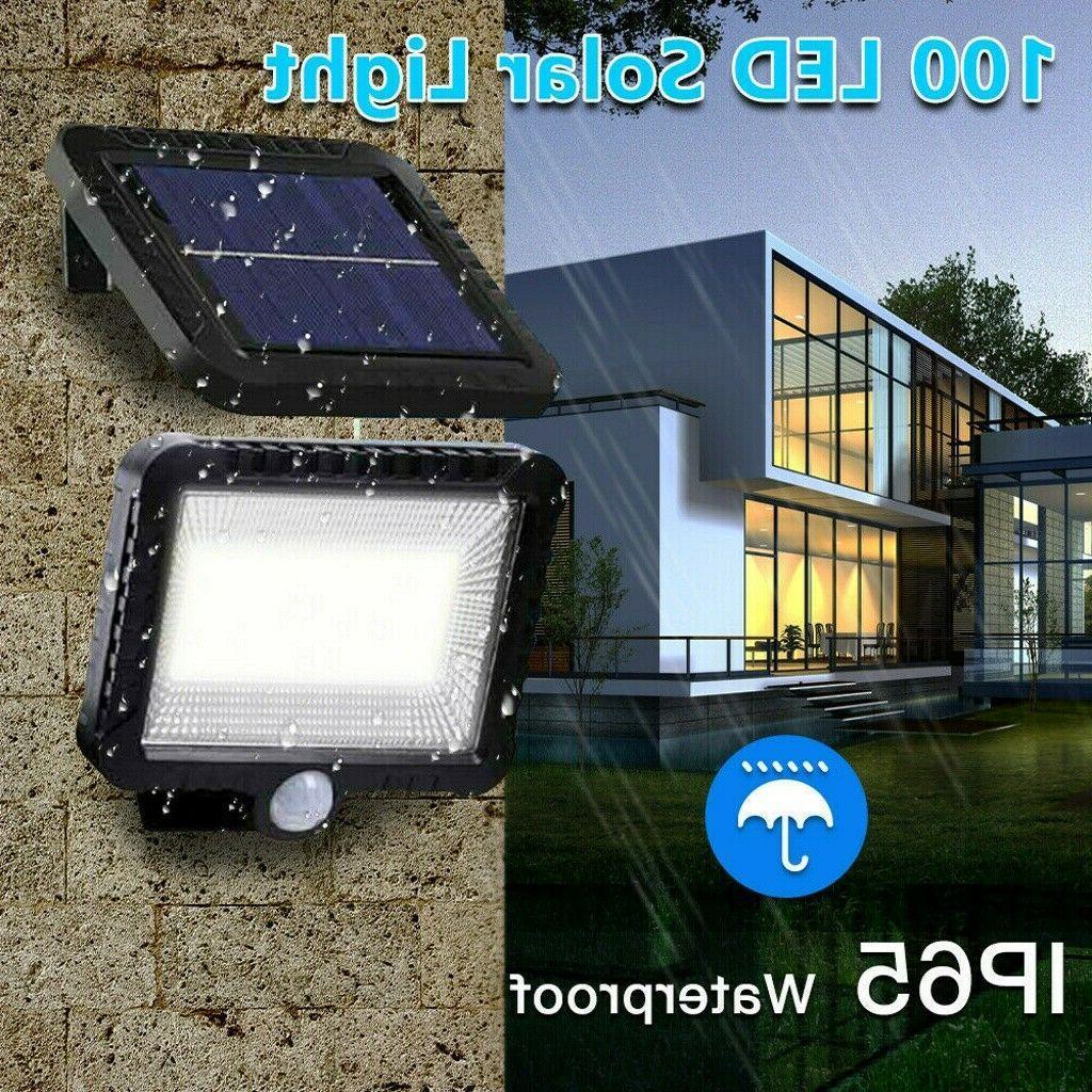 100 Solar Wall Light Outdoor Lamp