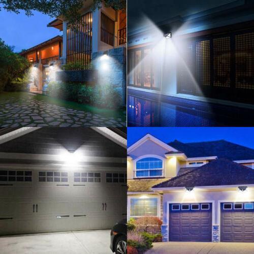 100 Light Motion Wall Yard Spa Garden Lamps USA