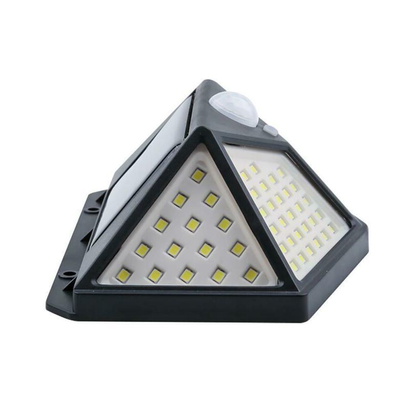 100 LED Solar PIR Sensor Outdoor Garden Security Flood Lamp