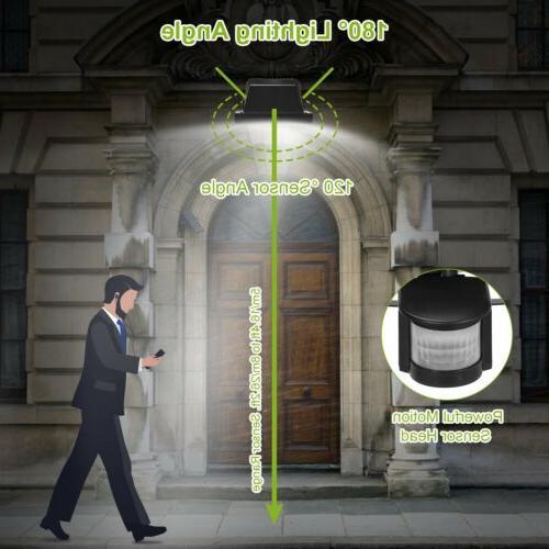 100 LEDs Outdoor Light Motion Sensor Security