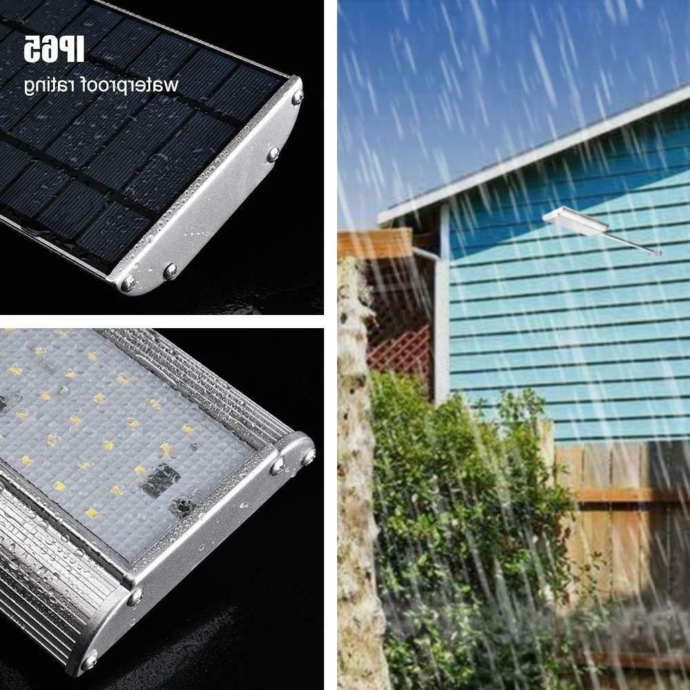 100 LED Solar Sensor Security Flood US