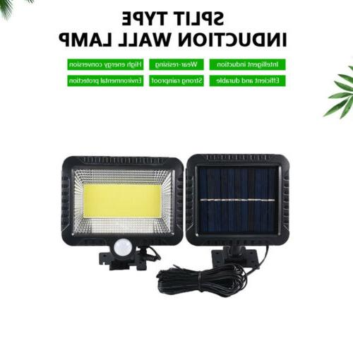 100 LED Solar Lights Motion Detection Security US