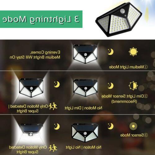2 Lights Wireless Motion Sensor Wall Lamp