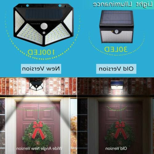 2 Lights Outdoor Motion Sensor Yard Lamp