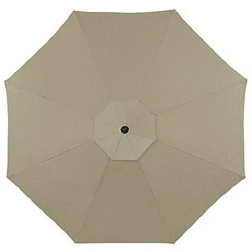 11 Foot Round Umbrella LED
