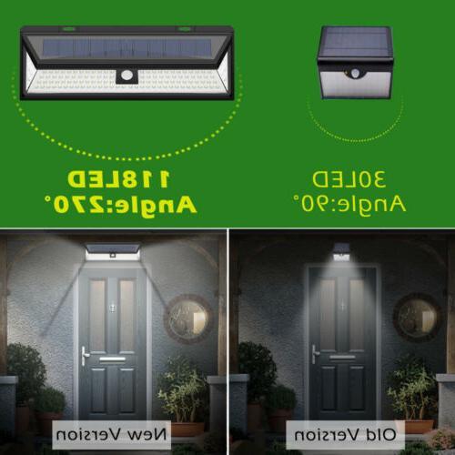 118LED Lights Outdoor Wireless Motion Yard Garden Pathway
