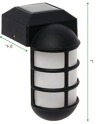 GreenLighting Pack Solar Post Metal Mount Light