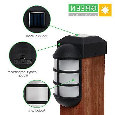 GreenLighting Solar Metal Side Mount Light