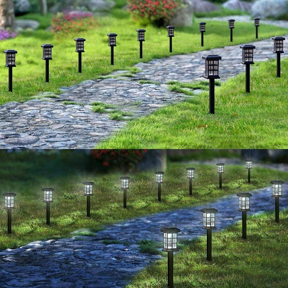 MAGGIFT Pack Pathway Lights Outdoor Solar Powered Lights