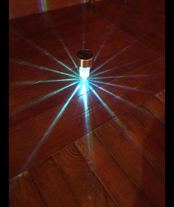 12 pcs Stainless Steel Solar Landscape Path Lights Lamp