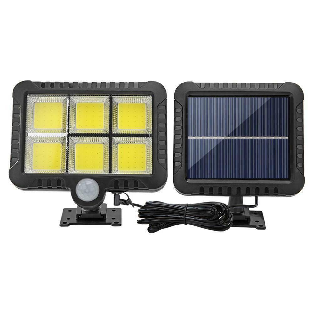 120 LED Solar Wall Lights PIR Motion Sensor Outdoor Garden S