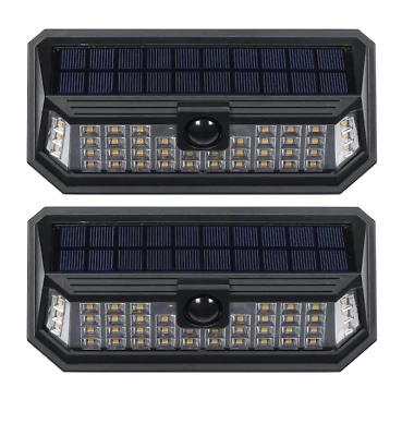 1200 lumen linkable solar motion activated wall