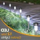Sunnest 12Pack Solar Lights Outdoor, Outdoor Garden Lights,