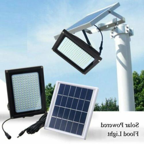 150 LED Solar Power Flood Spot Light Outdoor Garden Yard Sec