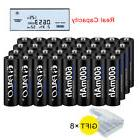 16 24 32 aa rechargeable batteries Ni-MH 600mAh 1.2V For Sol